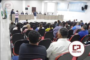 Vice-Presidente do Rotary faz uso da Tribuna Livre na Câmara Municipal para pedir ajuda aos vereadores em prol a ATA.