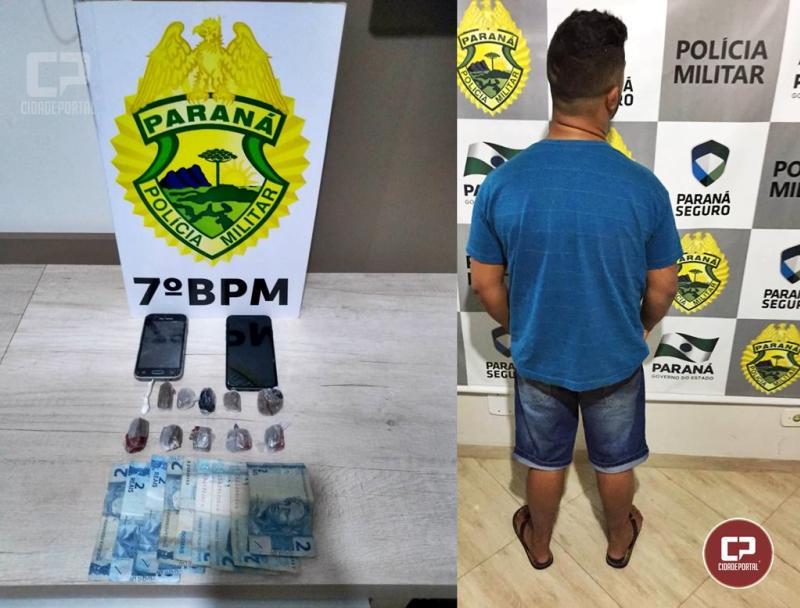Dois homem são presos por tráfico de drogas após um deles estar dirigindo sem CNH em Goioerê