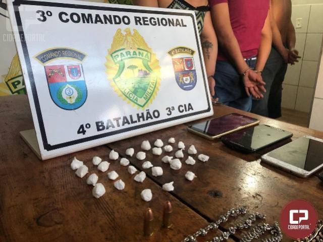 Polícia Militar prende traficantes e apreende drogas em Mandaguari