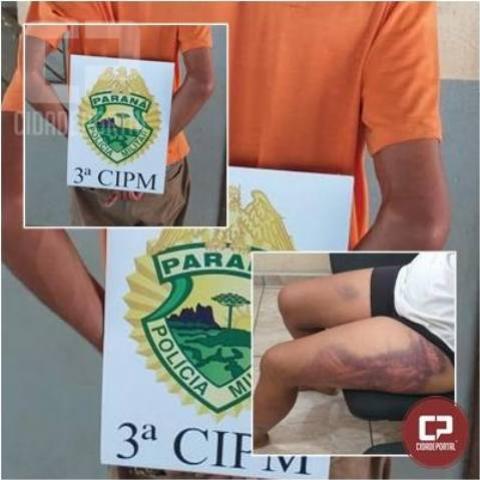 Polícia Militar da 3ª CIPM prende homem após violência doméstica no município de Nova Londrina