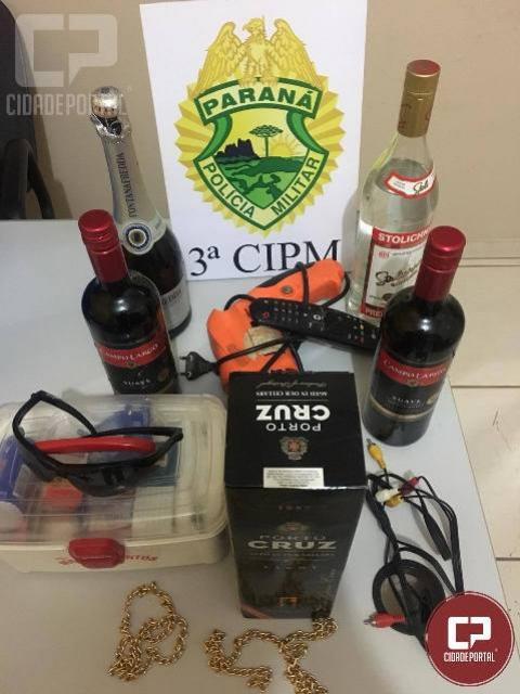 Polícia Militar da 3ª CIPM, recupera objetos furtados em Porto Rico