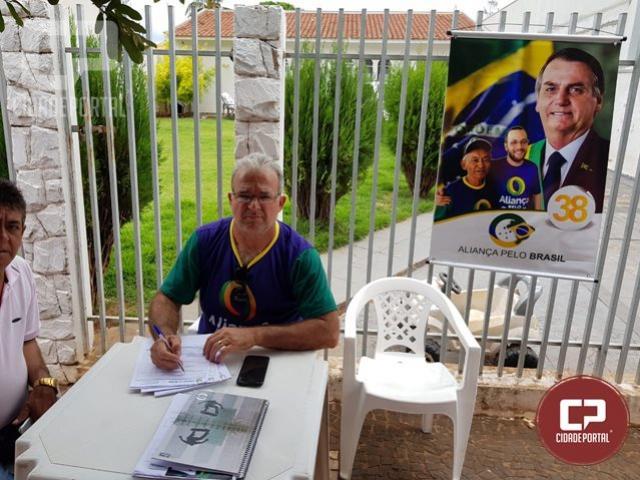 Venha participar desse momento histórico ao lado do presidente Bolsonaro afiliando-se ao seu partido!