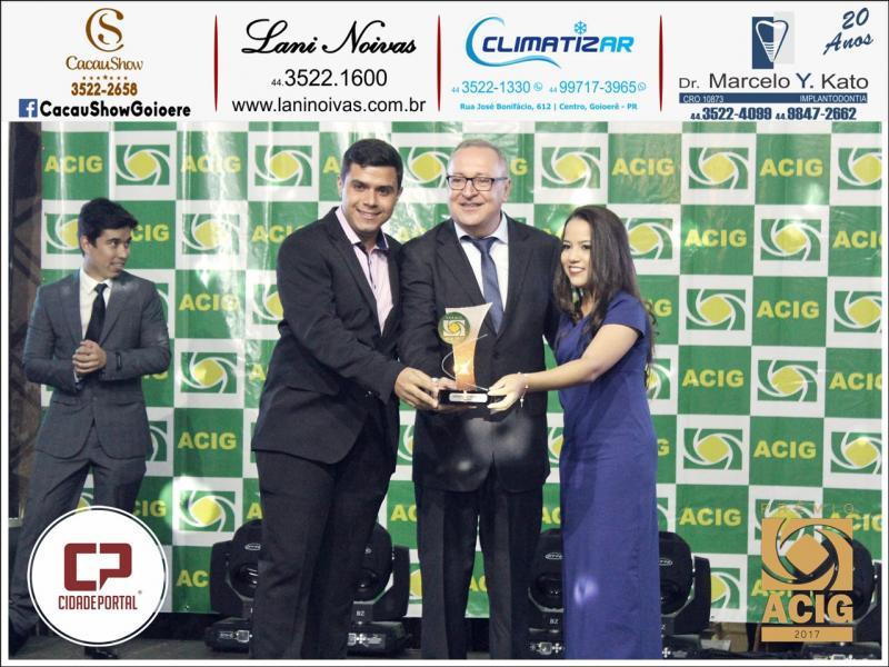Sorveteria Beijo Frio foi indicada ao Prêmio Acig - melhores do ano 2017