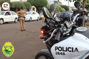 Operação TIRADENTES foi desencadeada pelos Policiais Militares de Goioerê da 2ª Cia do 7º BPM