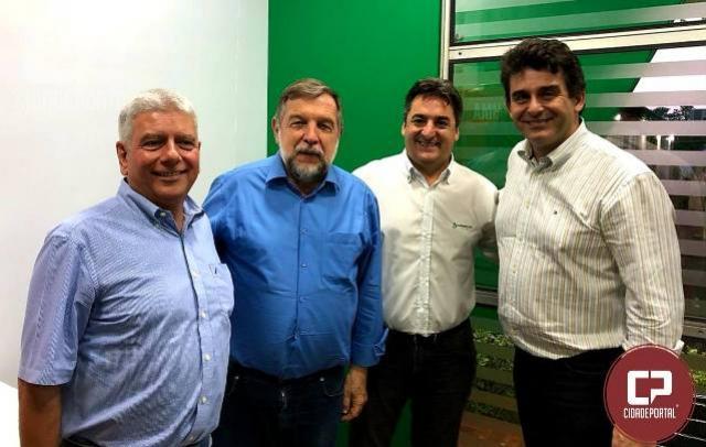 A Aprosoja Paraná esteve em Maringá discutindo sobre o agronegócio brasileiro