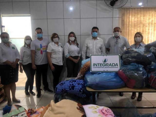 """Campanha """"Aquecendo Corações"""" recebe doações da Cooperativa Integrada"""