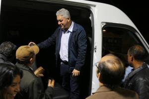 Douglas Fabrício entregou Van  para a Saúde em Rancho Alegre D´Oeste
