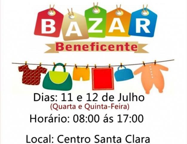 Bazar Beneficente do Santa Clara tem roupas a partir de 1 real