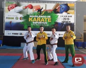 Alunos da Yobukan Goioerê Águas Claras participam da competição de karatê em Goiás