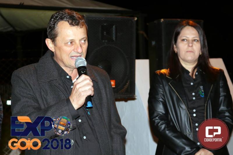 Nossa Expo Goio organizada com muito carinho para nossa população e toda a região,destacou Pedro Coelho