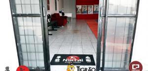 Parceria Cidade Portal e Tigrão Tintas levam solidariedade para Academia Nintai