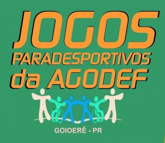 Abertura dos Jogos Paradesportivos da AGODEF será realizado nesta sexta, 13