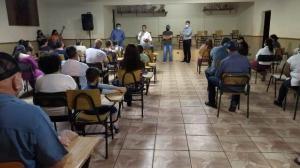 Prefeito participa de reunião com os moradores do bairro Jardim Universitário