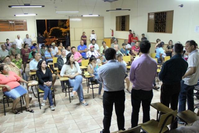 Prefeito Pedro Coelho e Secretários realizam prestação de contas no Jardim Universitário