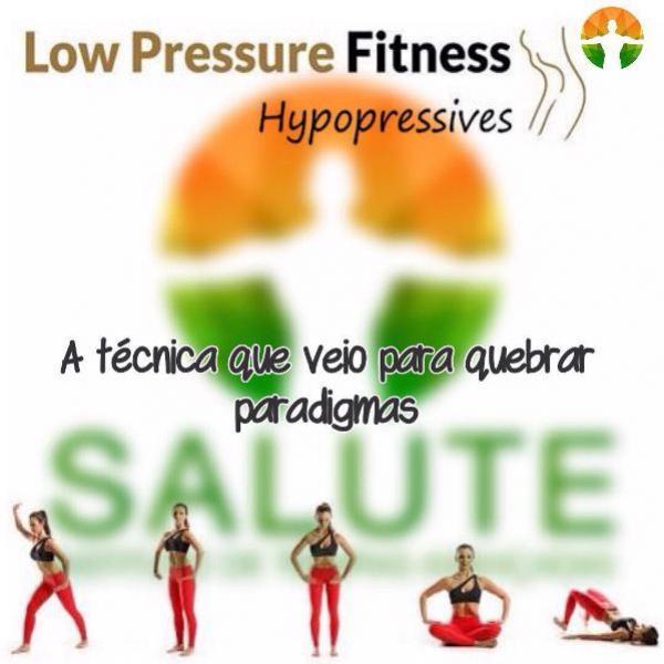 Low Pressure Fitness disponível para você no Salute Instituto