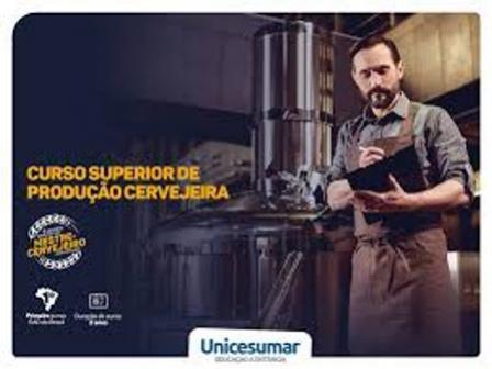 Graduações em Produção Cervejeira e Terapias Integrativas serão oferecidas pela Unicesumar EAD-Goioerê