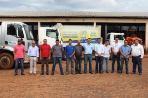 A partir da semana que vem seis caminhões de coleta seletiva atenderão a população goioerense