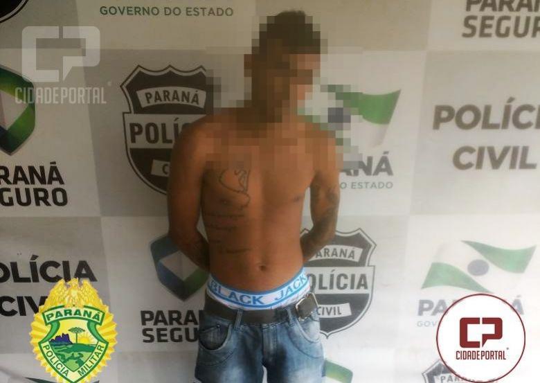Polícia Militar de Goioerê prende foragido da justiça com dois mandados de prisão em aberto