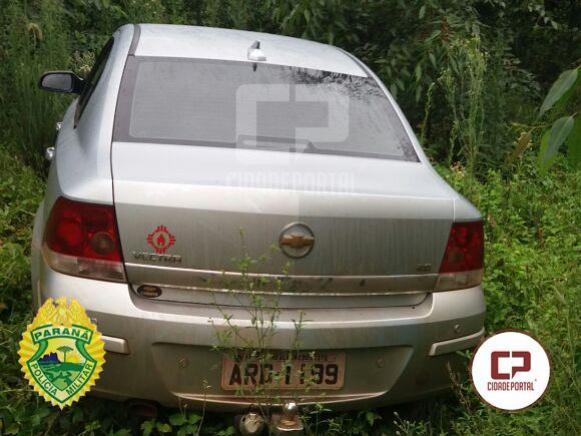 Polícia Militar de Goioerê recupera um veículo Vectra Elite furtado após denúncia anônima