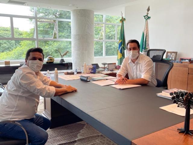 Betinho Lima realiza primeira audiência oficial com governador Ratinho Junior