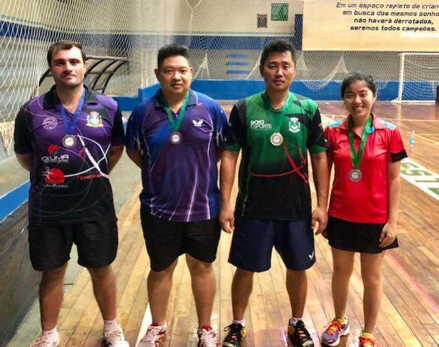 Tênis de Mesa de Goioerê brilha em torneio regional, realizado em Cruzeiro do Oeste