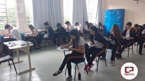 Alunos do Colégio Novo Mundo realizaram o primeiro simulado do ano