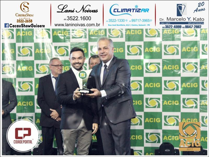 Arquiteto Mário Cioneck II recebeu duas indicações ao Prêmio ACIG - Melhores do Ano de 2017