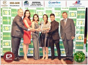 Unika Cosméticos recebe Prêmio Acig Melhores do Ano 2018