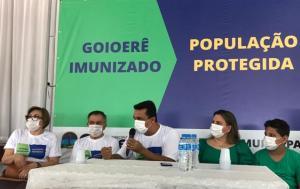 Prefeito Betinho Lima falou das ações dos 100 dias de sua gestão