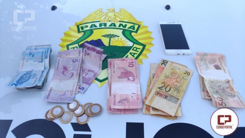 Polícia Militar de Goioerê com eficiência prende duas pessoas acusadas de roubo no mercado da Edna