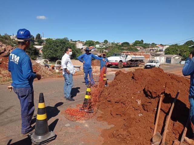 Sanepar está investindo mais de R$ 1,37 milhão em rede de esgoto no município de Goioerê