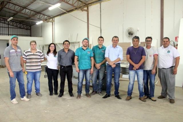 Pedro Coelho visita empresários no Parque Industrial de Goioerê