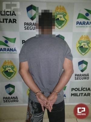 Polícia Militar prende maior e encaminha menor por ato infracional em Cianorte