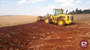Prefeitura e Emater de Quarto Centenário executam o Programa de Gestão de solo e água em microbacias