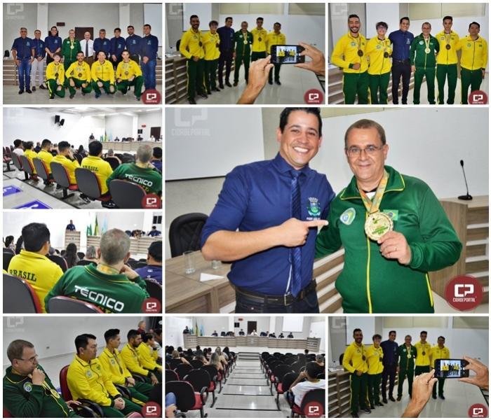 Câmara Municipal concede Título de Mérito Esportivo ao Treinador de Karatê Mario Ronei