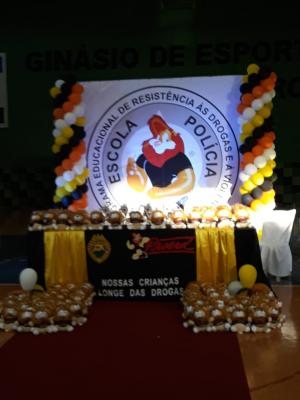 Proerd realizou formatura em Juranda na noite desta terça-feira, 11