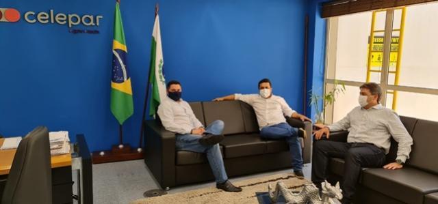 Betinho Lima busca parceria da Celepar para iniciar projeto de modernização da gestão pública