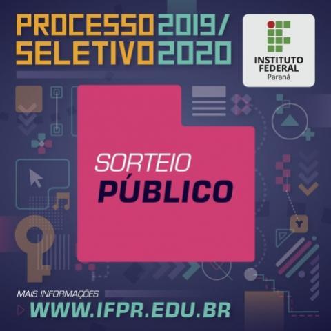 IFPR de Goioerê realizará sorteio de 9 vagas para curso técnico nesta quarta, 19