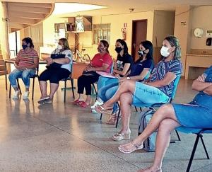 Secretarias de educação e saúde de Goioerê realizaram treinamento