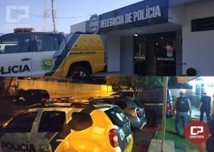 Polícia Civil de Mamborê cumpre mandado de prisão contra envolvidos com o tráfico de drogas