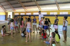 Serviço de Convivência com crianças do Jardim Universitário