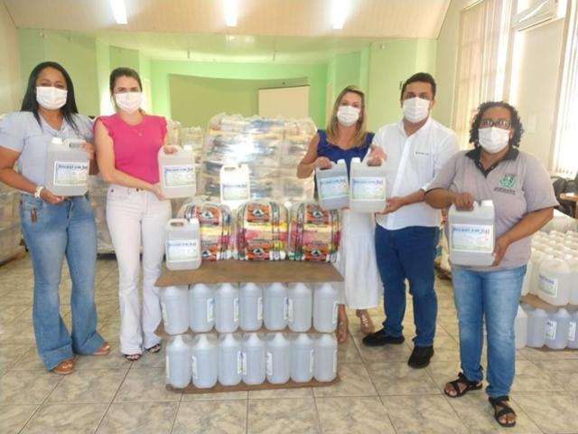 Secretaria de Assistência Social entregou 1.100 cestas básicas em Goioerê