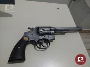 Uma pessoa foi presa por porte ilegal de arma de fogo em Quarto Centenário