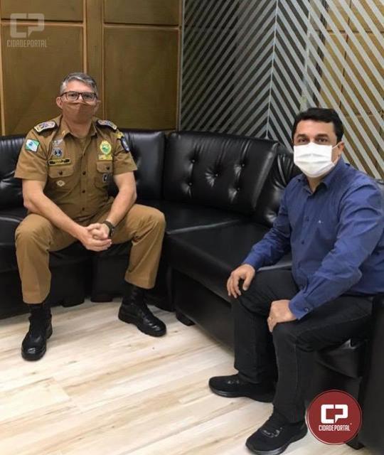Betinho Lima reivindica instalação de Companhia Independente da PM em Goioerê