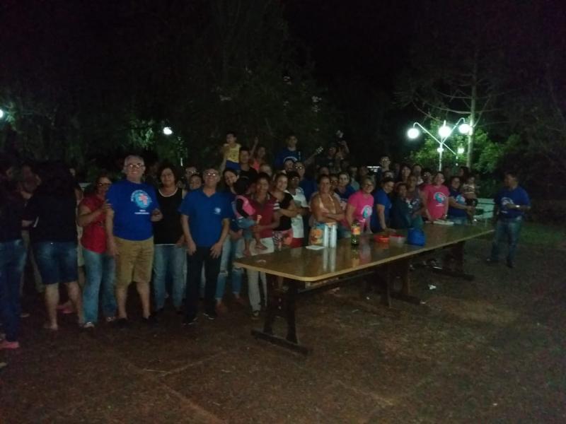 Cursilhistas da Paróquia Nossa Senhora das Candeias visitaram os Venezuelanos na Aldeia SOS