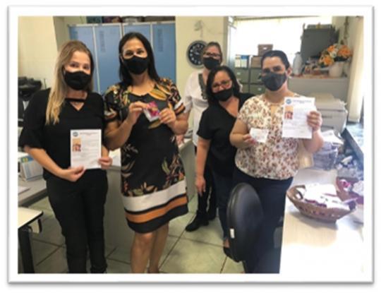NRE de Goioerê acompanha entregas de kits de merenda, leite e boletim escolar nas escolas de Moreira Sales