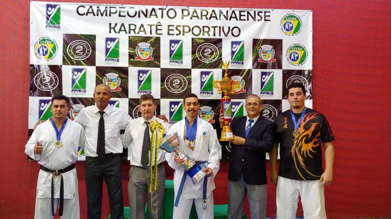 Karatê Goioerê Águas Claras YOBUKAN é Campeã geral 2018 com 61 medalhas