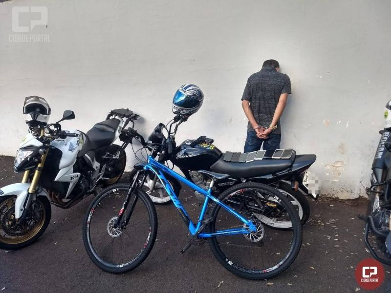Polícia Militar de Maringá prende autor de vários roubos de celulares