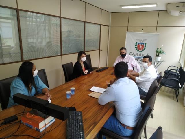 Prefeito Betinho Lima esteve em importante reunião na Secretaria de Estado da Saúde