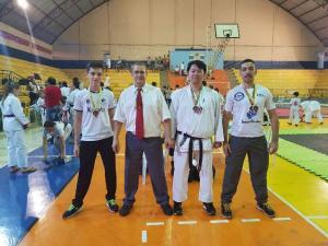 Cinco atletas da Águas Claras ganham medalhas em competição em Bom Sucesso